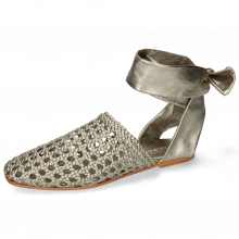 Sandales Melly 8 Mignon Pewter Nappa Talca