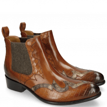 Bottines Hugo 2 Crock Wood Varadeo Cognac