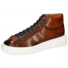 Sneakers Mick 1 Pavia Tan Shade Dark Brown