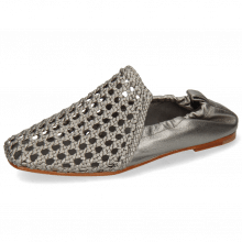 Mocassins Melly 7 Mignon Steel Nappa Talca