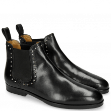 Bottines Susan 37 Black Elastic Black