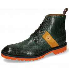 Bottines Eddy 26R Crock Pine Strap Suede Orange