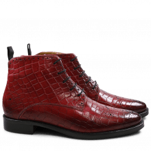 Bottines Betty 4 Crock Bordo HRS