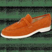 Mocassins Earl 3 Suede Pattini Orange
