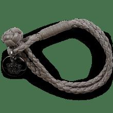 Bracelets Caro 1 Woven Stone Accessory Nickel