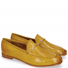 Mocassins Scarlett 22  Pisa Yellow Trim Gold