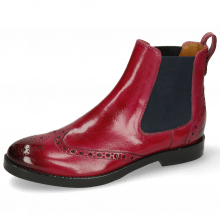 Bottines Amelie 5 Classic Dark Pink Elastic Navy