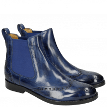 Bottines Amelie 5  Electric Blue Elastic Electric Blue LS