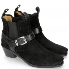 Bottines Kylie 3 Chelina Suede Black Turtle Black