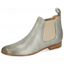 Bottines Sally 25 Imola Perfo Digital Elastic Lino