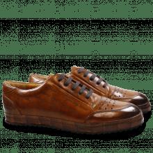 Sneakers Harvey 2 Tan Lasercut Step Navy