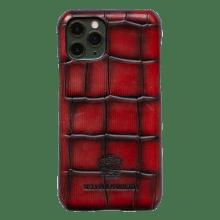 Coque iPhone Eleven Pro Turtle Red Edge Shade Black