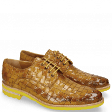 Derbies Brad 7 Woven Yellow Lining