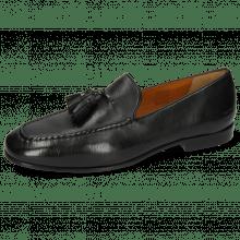 Mocassins Clive 20 Monza Black Tassel Black