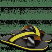 Sandales Sam 5 Black Elastic Rifra