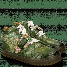 Sneakers Maxima 5 Crock Ultra Green Textile Blush