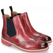 Bottines Selina 6 Bubblegum Elastic Navy
