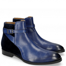 Bottines Kane 1 Midnight Blue Velluto