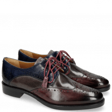 Derbies Betty 2  Deep Pink