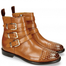 Bottines Selina 20 Indus Wood Rivets Gold