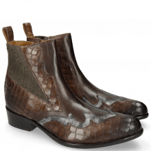 Bottines Hugo 1 Crock New Taupe Varadeo Carbon
