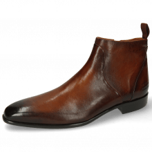Bottines Lance 51 Pisa Cognac Dark Brown