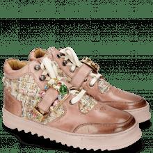 Sneakers Maxima 5 Rosa Textile Blush Silk Tongue
