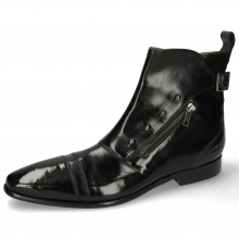 Bottines Elvis 25 Black Tan Toledo Black