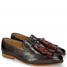 Mocassins Lance 36 Turtle Black Red