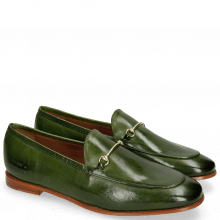 Mocassins Scarlett 22 Pisa Ultra Green Trim Gold