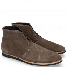 Bottines Florian 6 Suede Stone Modica Black