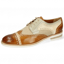 Derbies Henry 7 Imola Camel Nude Beige Perfo New Sand