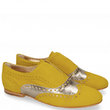 Mocassins Sonia 1 Parma Suede Yellow