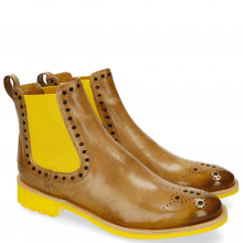 Bottines Amelie 8 Powder Shade Yellow