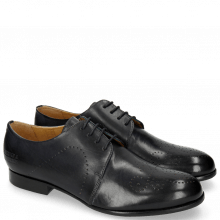 Derbies Sally 1 Navy HRS Black