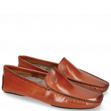 Mocassins Home Donna Orange Sock Fur