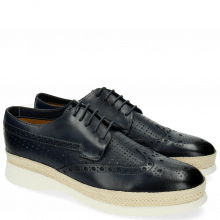 Derbies Elia 4 Perfo Square Moroccan Blue