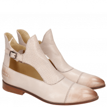 Bottines Jessy 21 Salerno Perfo Pale Rose