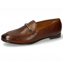 Mocassins Scarlett 22 Pisa Wood Trim Gold Lining