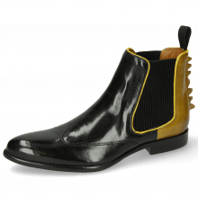 Bottines Keira 7 Black Sol Binding Fluo Yellow
