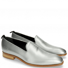 Mocassins Prince 1 Brush Silver