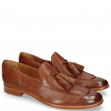 Mocassins Clint 6 Pavia Tan Tassel