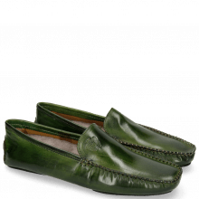 Mocassins Home Donna Ultra Green Sock Fur