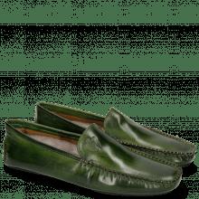 Mocassins Home Donna Ultra Green Sock Fur