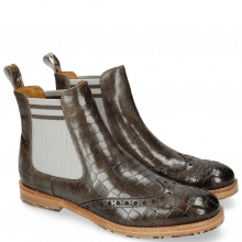 Bottines Amelie 77 Crock Grigio Loop Camo