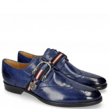 Derbies Clint 2 Midnight Blue Buckle