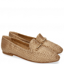 Mocassins Jackie 3 Mesh Woven Rame
