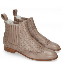 Bottines Sally 129 Nappa Glove Stone