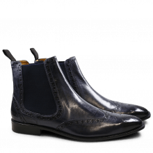 Bottines Xabi 2 Berlin Navy Elastic Navy