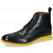 Bottines Eddy 10 Crock Navy Pop Yellow
